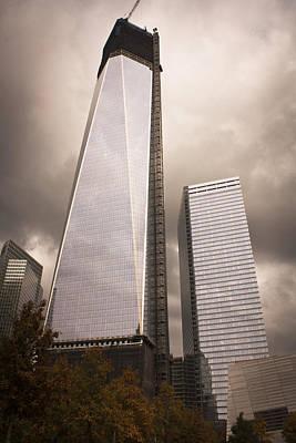 Freedom Tower Art Print by Teresa Mucha