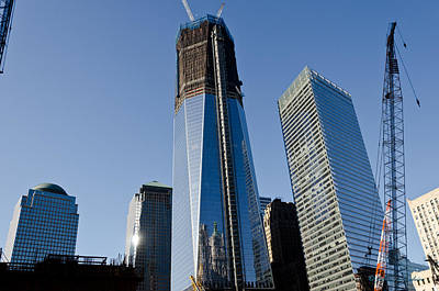 Photograph - Freedom Towers by Johnny Sandaire