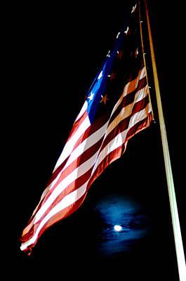Flag On Federal Hill Art Print