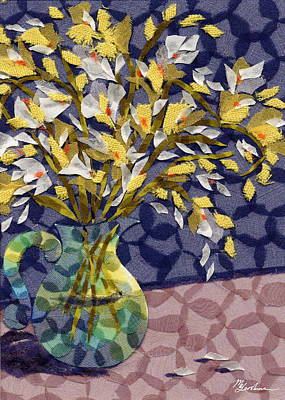 Freesia Art Print by Marina Gershman