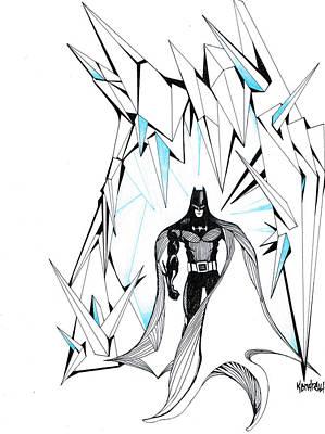 Freeze Art Print by Kendrew Black
