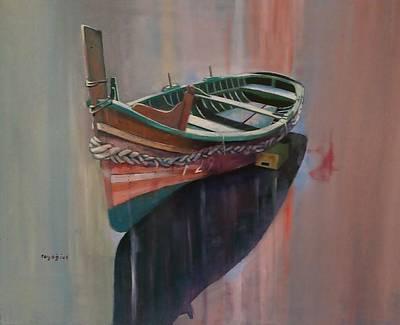 Painting - Frejgatina by Ray Agius