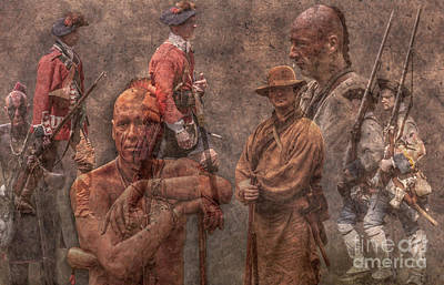 Six Nations Digital Art - French And Indian War 1754 - 1763 by Randy Steele