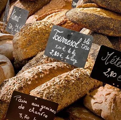 French Bread Of Provence Art Print by Kent Sorensen