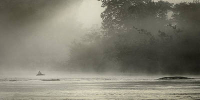 Photograph - French Broad River Morning  by Gray  Artus