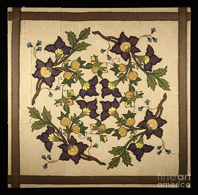 French Floral Tapestry Original