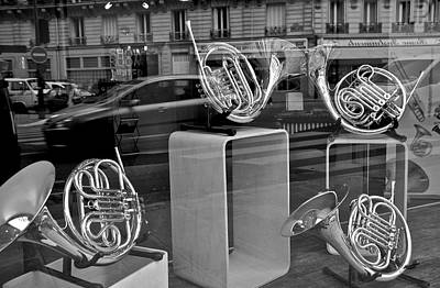 Photograph - French Horns  by Eric Tressler