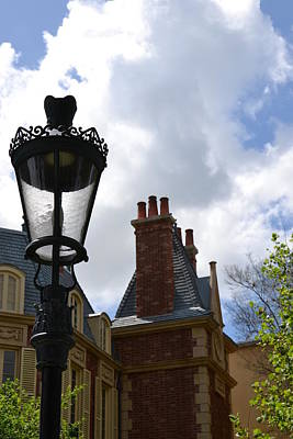 Photograph - French Lamppost by Bonnie Myszka