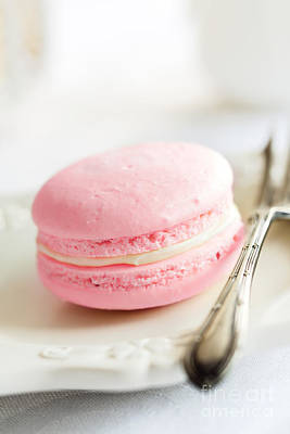 Macaroons Photograph - French Macaron by Ruth Black