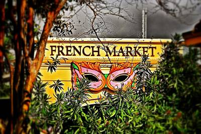 Photograph - French Market  by Jim Albritton