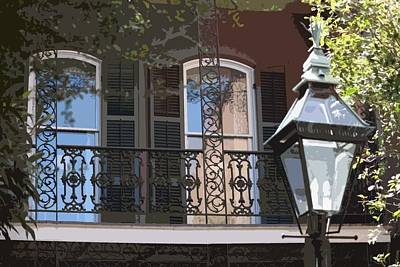 Photograph - French Quarter Balcony by Donna G Smith