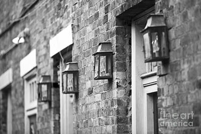 Leda.com Photograph - French Quarter Lamps by Leslie Leda