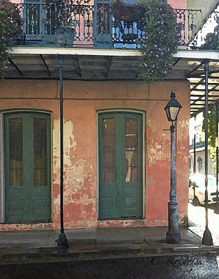 Photograph - French Quarter Morn by Cheri Randolph