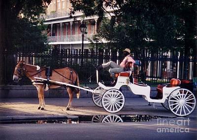 French Quarter Taxi Original by John Malone