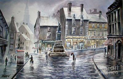 French Rain Art Print