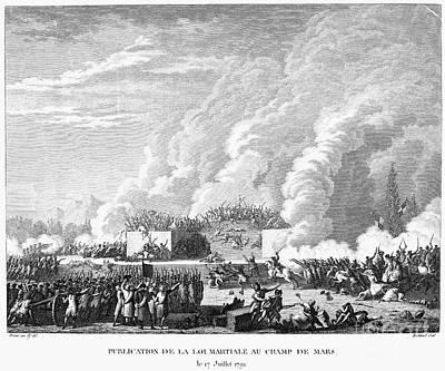 French Revolution, 1791 Art Print