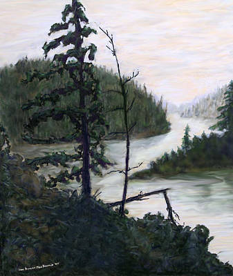 Sudbury River Painting - French River Country Northern Ontario by Ian  MacDonald