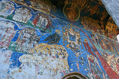 Photograph - Fresco At Humor Monastery by Emanuel Tanjala