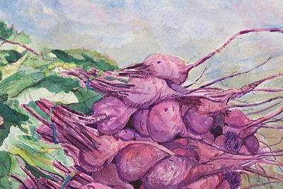 Painting - Fresh Beets by Barbara McGeachen