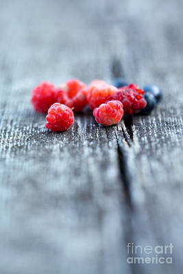Photograph - Fresh Berries by Kati Finell