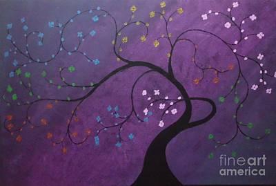Fresh Blooms Art Print by Dawn Plyler