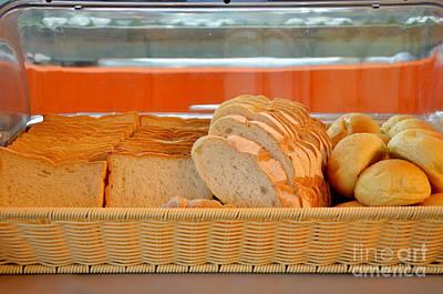Butter Molds Photograph - Fresh Bread by Rakratchada Torsap