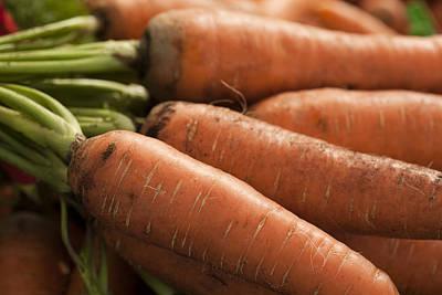 Fresh Carrots Art Print by Brian Yarvin