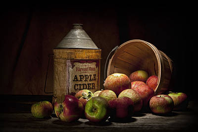 Red Photograph - Fresh From The Orchard II by Tom Mc Nemar
