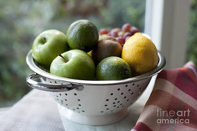Traditional Bells - Fresh Fruit by Window by Charlotte Lake