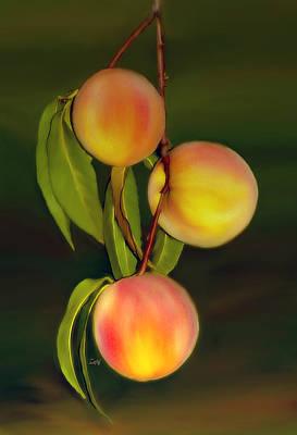 Art Print featuring the photograph Fresh Fruit by Sami Martin