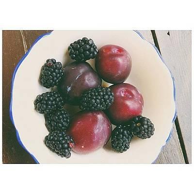 Still Life Wall Art - Photograph - Fresh Fruits by Ann K