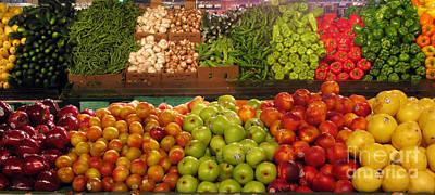 Photograph - Fresh Market Series. Bounty. by Ausra Huntington nee Paulauskaite