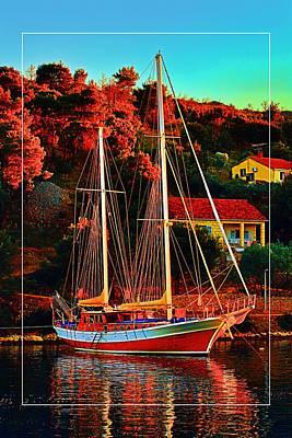 Fresh Sail  Art Print by Gennadiy Golovskoy