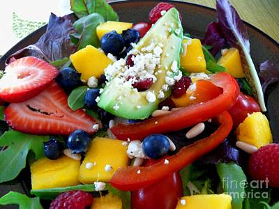 Photograph - Fresh Salad by Terri Thompson