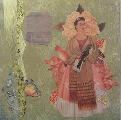 Frida S Gown Art Print