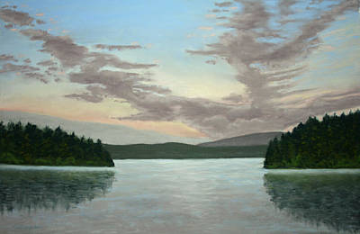 Painting - Friday Harbor Sunrise by Carl Capps
