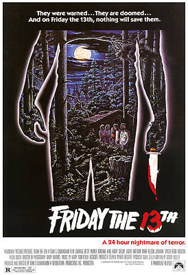 Friday The 13th, 1980 Art Print by Everett