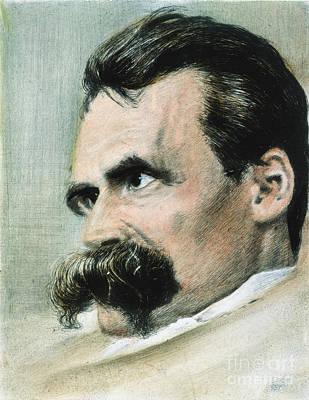 Photograph - Friedrich W. Nietzsche by Granger