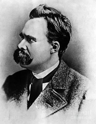 Friedrich Wilhelm Nietzsche, German Art Print