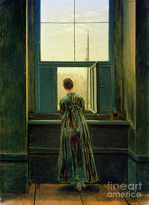 Aodng Painting - Friedrich Woman 1822 by Granger