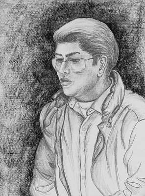 Drawing - Friend by Kume Bryant