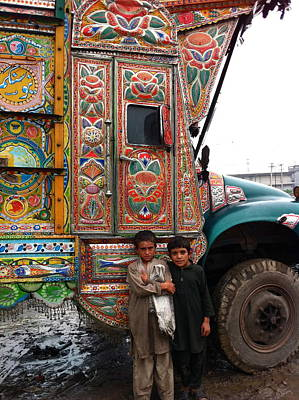 Photograph - Friends - Take Me For A Ride In Your Jingly Truck by Fareeha Khawaja