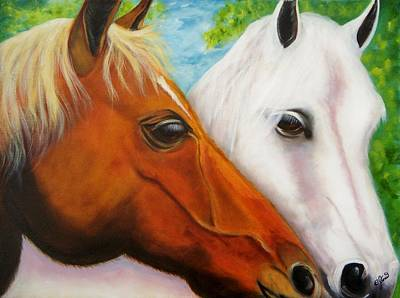 Painting - Friends by Joni McPherson