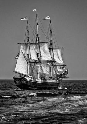 Windjammer Photograph - Friendship by Fred LeBlanc