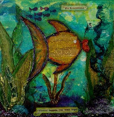 Remembrance Mixed Media - Friendship by Heather Saulsbury