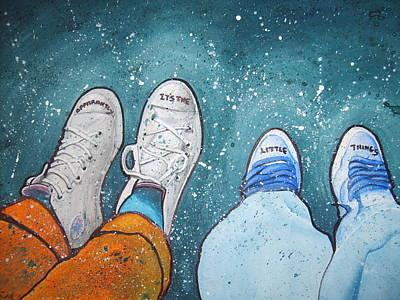Friendship Art Print by Jan Farthing