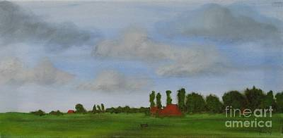 Painting - Friesland by Annemeet Hasidi- van der Leij