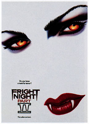 Horror Movies Photograph - Fright Night Part 2, 1988 by Everett