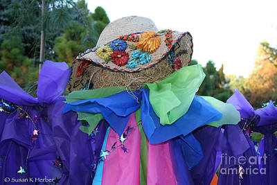 Photograph - Frilly Scarecrow by Susan Herber