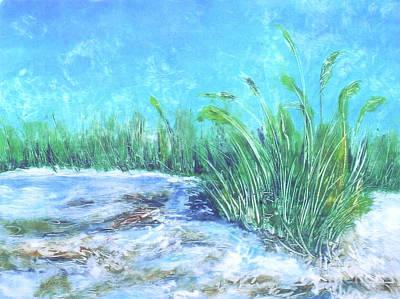 Fripp Island I I I  Art Print by Pamela Iris Harden